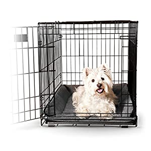 B00YGZ9HZ4SYW K&H Manufacturing Memory Foam Crate Pad for Pets, 14 by 22″, Gray