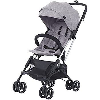 Amazon Com Evolur Voyager Stroller Grey One Hand Easy