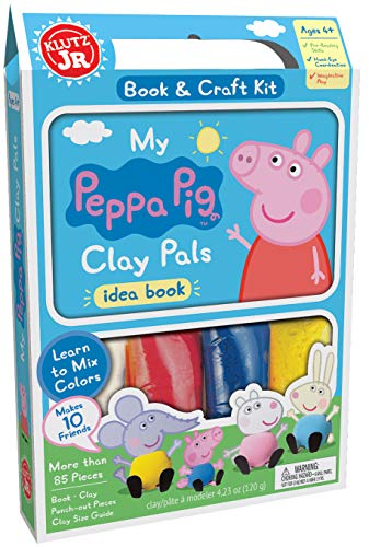 Klutz Jr. My Peppa Pig Clay Pals Craft Kit -