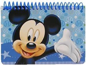 Disney Mickey Autógrafo libro - azul claro: Amazon.es: Bebé