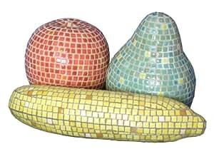Kit mosaico y Escultura 3D, Frutas