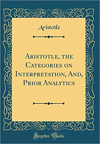 Prior Analytics Categories On Interpretation