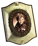 Eurofase 13641-016 Laurel Picture Frame, Pewter/Antique Bronze