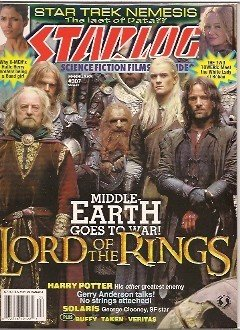 Read Online Starlog #307 (NM) Lord of the Rings, Star Trek Nemesis, Harry Potter, Solaris, Buffy PDF