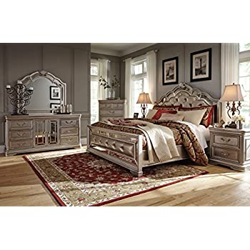 Beautiful Ashley Birlanny Bedroom Set (6 PC King Bedroom Set)