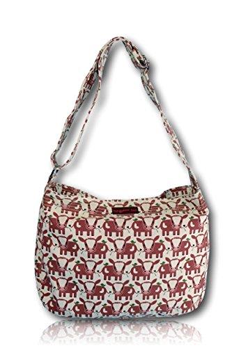 Bungalow 360 large Messenger Bag (cow)