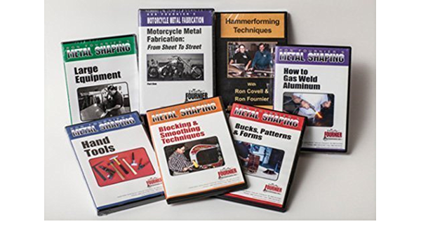 Ron Fournier Metal Shaping Workshop 7 DVD Set by Ron ...