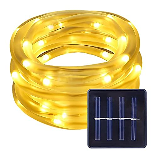 LE Solar Power 16.5ft 50 LED Rope