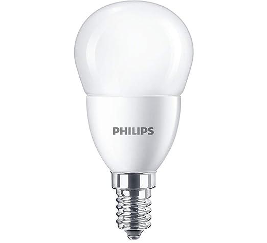 Philips LED 7 W Bombilla E14 Gota 865 Luz de día Blanco