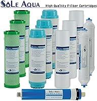Sole Aqua 5 Etapa casa purificador de agua potable bajo una mesa ...