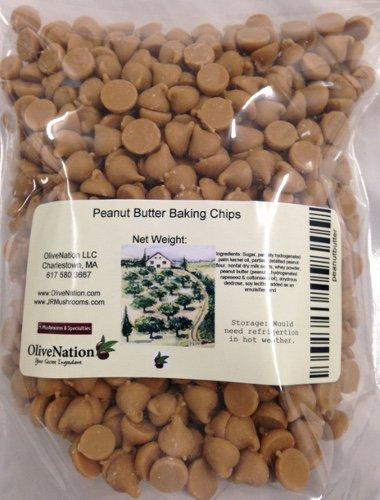 Peanut Butter Baking Chips 8 oz by OliveNation