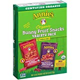 Annie's Organic Bunny Fruit Snacks Variety Pack, 9.6 Ounce