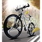 Adulti-Mountain-Bike-Spiaggia-motoslitta-Biciclette-Doppio-Freno-a-Disco-Biciclette-26-Pollici-in-Alluminio-Lega-Uomo-Donna-General-Purpose