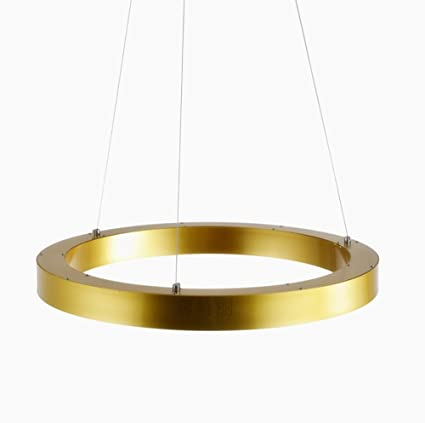 Lgoodl modern led white light crysta acrylic pendant light with 1 lgoodl modern led white light crysta acrylic pendant light with 1 ring gold finish max 60w aloadofball Image collections