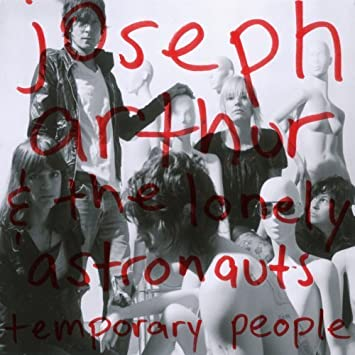 Temporary People by Joseph Arthur Audio CD: Joseph Arthur: Amazon ...