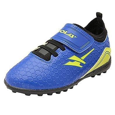 Footwear Studio Gola Ativo 5 Childrens Astro Turf Training Shoes - Apex VX  - Blue/
