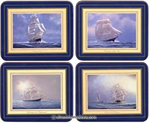 Lady Clare Clipperships Coasters - Set of 4
