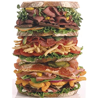 Snack Stack 500 Piece Jigsaw Puzzle: Toys & Games