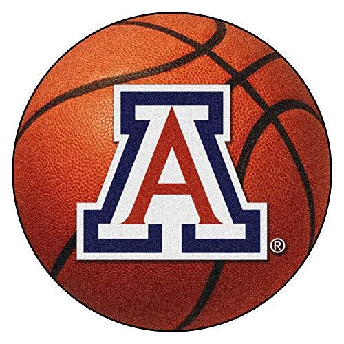 FANMATS NCAA University of Arizona Wildcats Nylon Face Basketball - Arizona Rug Basketball