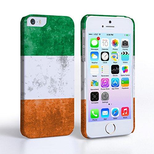 Caseflex Coque iPhone 5 / 5S Rétro Irlande Drapeau Dur Housse