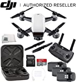 DJI Spark Quadcopter (Alpine White) + DJI Spark Remote Ultimate Bundle