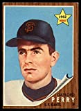 Baseball MLB 1962 Topps #199 Gaylord Perry VG/EX Very Good/Excellent RC Rookie Giants
