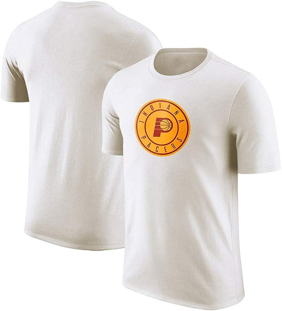 Camiseta NBA Indiana Pacers Fans de Baloncesto Juvenil Masculino cómoda Camisa S-3XL Blanca: Amazon.es: Ropa y accesorios