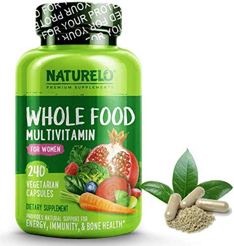 Multivitamins: NATURELO Whole Food Multivitamin for Women