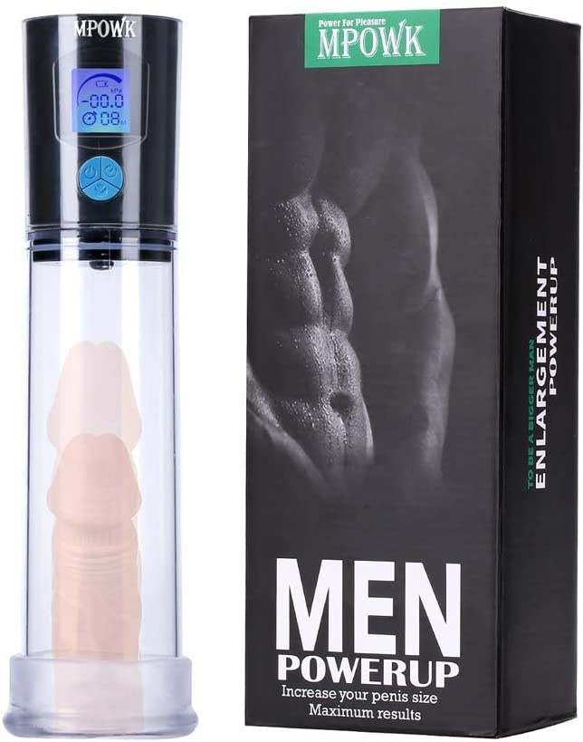 Massage Best Pennis Pump Pro-Extender Massager for Men with Titan Gḙl, Enlarger Vacuum Pump Tight Design