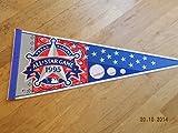 1995 Mlb Texas Rangers All Star Game Baseball Pennant Nr Mint