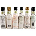 Fee Brothers Bar Cocktail Bitters - Set of 6 4 <p>There's no question that the folks at Fee Brothers know their bitters! The family owned company opened in 1863 and is currently in its fourth generation of manufacturing top quality cocktail mixes, bitters, syrups and other beverage ingredients. * This exclusive six-bottle sampler set gives you all of the incredible flavors you need to create innovative and exciting cocktails. With bottles of West Indian Orange, Peach, Lemon, Grapefruit, Mint and Old Fashioned Aromatic bitters in your arsenal of ingredients, you're always ready to raise the bar. * Specs - Size: 4 fl oz each. * Includes - (1) West Indies Orange Bitters, (1) Peach Bitters, (1) Lemon Bitters, (1) Grapefruit Bitters, (1) Mint Bitters, and (1) Old Fashioned Bitters. Made by Fee Brothers of Rochester, New York. Includes 6 hand selected bottles. Peach and West Indian Orange Bitters. Grapefruit and Lemon Bitters. Mint and Old Fashioned Aromatic Bitters.</p>