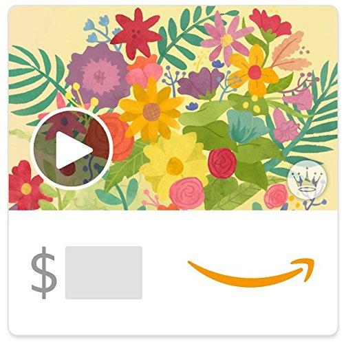 Amazon eGift Card - Mother's Day joy and beauty (Animated) [Hallmark]