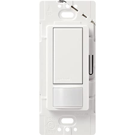 Lutron Maestro Motion Sensor switch, no neutral required ...