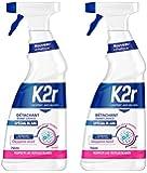 K2r Détachant Avant-lavage Spécial Blanc Pistolet 750 ml - Lot de 2
