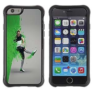 BullDog Case@ Football Soccer Star Player Rugged Hybrid Armor Slim Protection Case Cover Shell For iPhone 6 Plus CASE Cover ,iphone 6 5.5 case,iPhone 6 Plus cover ,Cases for iPhone 6 Plus 5.5