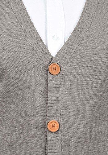 V Veste Mix Blend Lennardo Cardigan Sans Homme Zink Avec 70815 Pour Manches En Maille Gilet Encolure xpp6w1qt7a