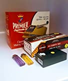 Premier Supermatic 2 Cigarette Rolling Machine+ FREE Shargio tubes, Case & lighters