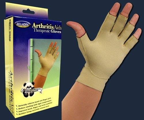 PACK OF 3 EACH - Therapeutic Arthritis Gloves Large 9ø - 10ð