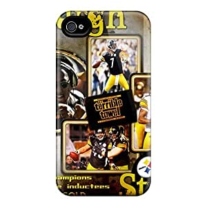 Durable Cell-phone Hard Covers For Iphone 6 plus (GvN6 plus995ENXW) Customized Lifelike Pittsburgh Steelers Skin