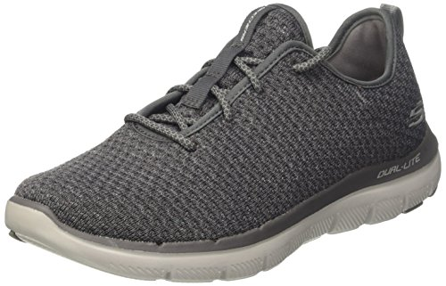 charcoal Flex 2 Zapatillas 0 Gris Para cravy Skechers Advantage Hombre a4dqnwzz