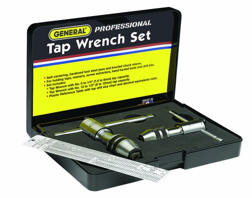 General Tools 165 Tap Wrench Set