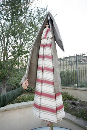Beautiful Amazon.com : Patio Umbrella Cover Fits 7ft To 11ft Umbrellas : Patio, Lawn  U0026 Garden