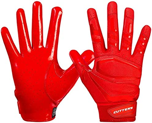 Cutters Game Day Football Glove Silicone Grip Receiver Youth /& Adult Sizes,...