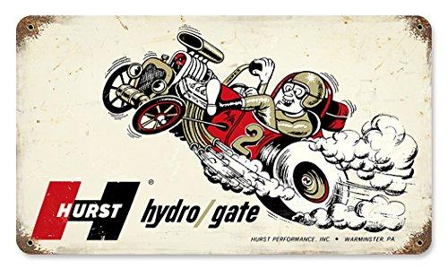 Hurst Hydro/Gate Metal Sign 14