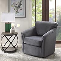 Madison Park Annette Swivel Chair Grey See Below