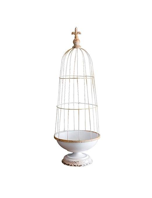 Decoración en Maceta de Jaula de pájaros, Jaula de pájaros ...