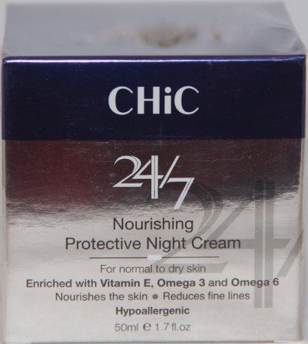 Chic 24/7 Питательный Защитный Крем ночной 1.7 жидких унций