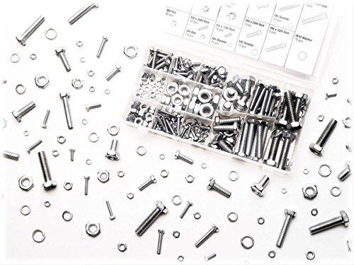 Generic USYC150623-040 {8%0678?1} ortmentNut, Bolt, Bolt, and 240-Piece Zinc Washer Metric Nut, Assortment 240-Piece Zin