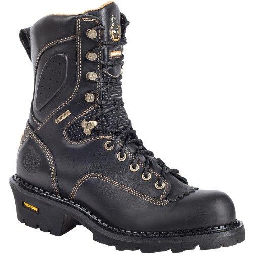 Georgia Men's Composite Toe Core Logger Boots,Black,10 - Outlets Georgia 400