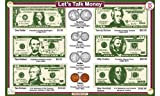 Tot Talk Money Educational Placemat for Kids